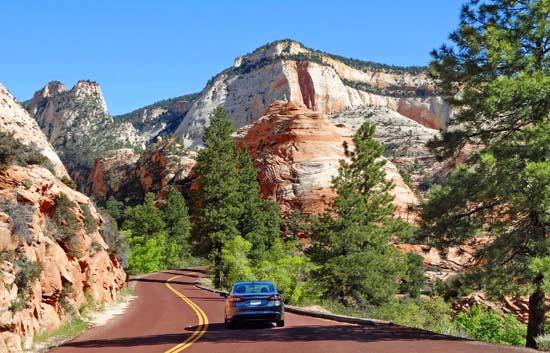 pretty mountain drive