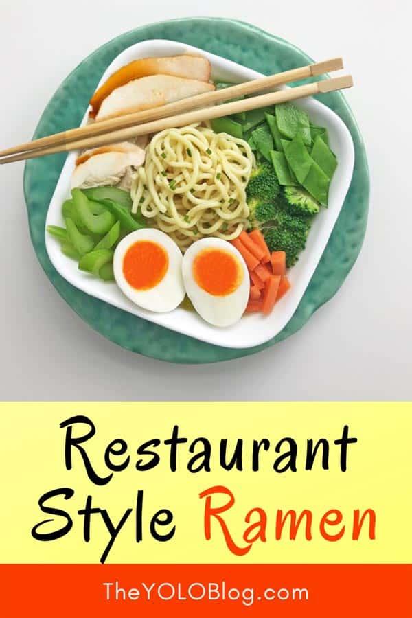 Restaurant style ramen recipe