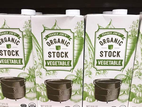 Trader Joe's Organic Vegetable Stock