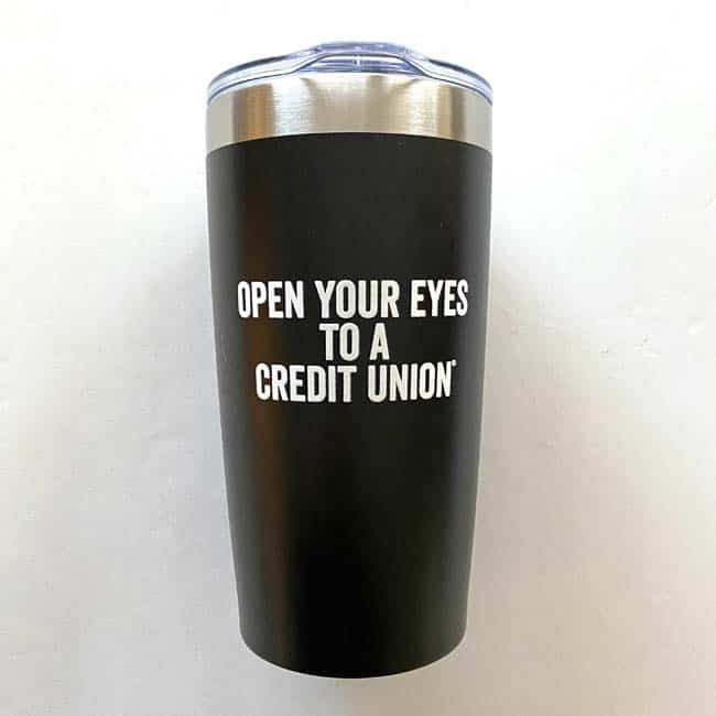 Credit Union Coffee Cup
