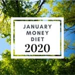 January Money Diet 2020