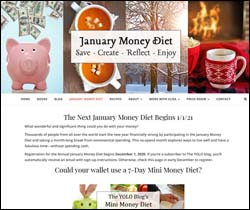 Sign up for the January Money Diet