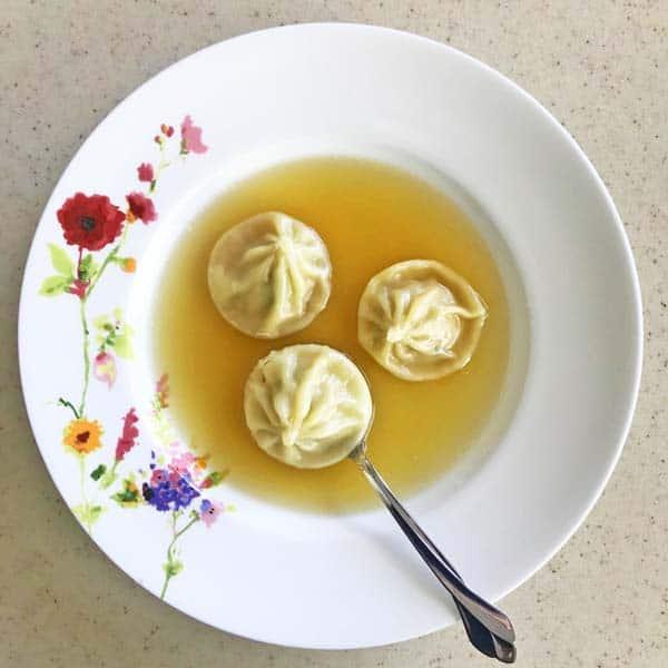 Trader Joe's soup dumplings