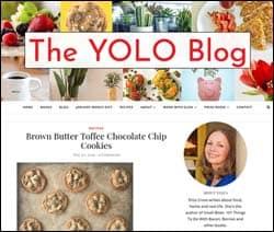The YOLO Blog homepage