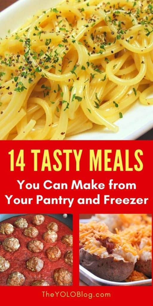 Tasty Pantry Meals