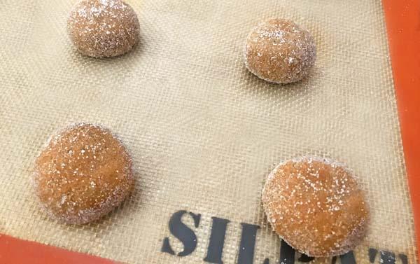 flatten cookie dough balls