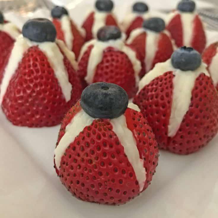 Patriotic berries