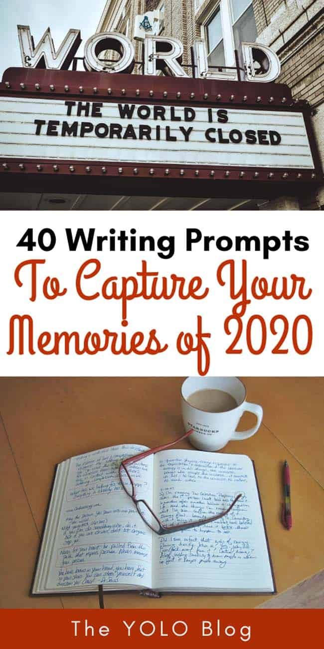 Journaling prompts to help you capture your memories of 2020 | #journaling #writing #writingprompts