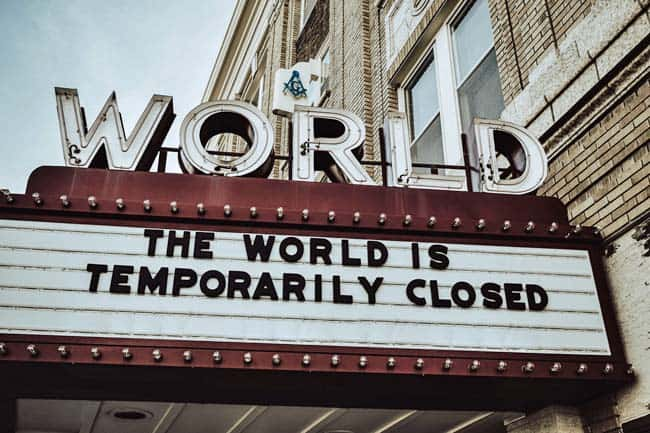 world temporarily closed
