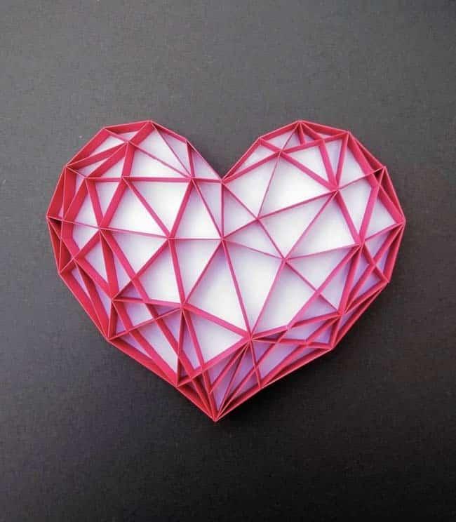 Heart art by Kajal Singh
