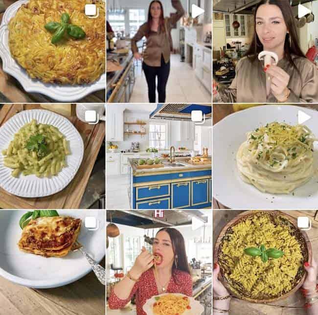 the pasta queen instagram