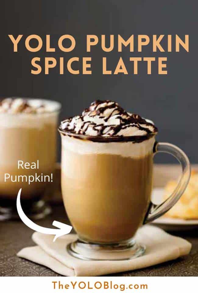 YOLO Pumpkin Spice Latte recipe