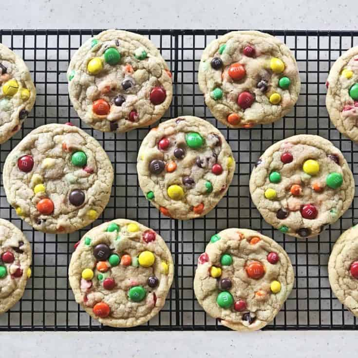 YOLO Chewy M & M Cookies