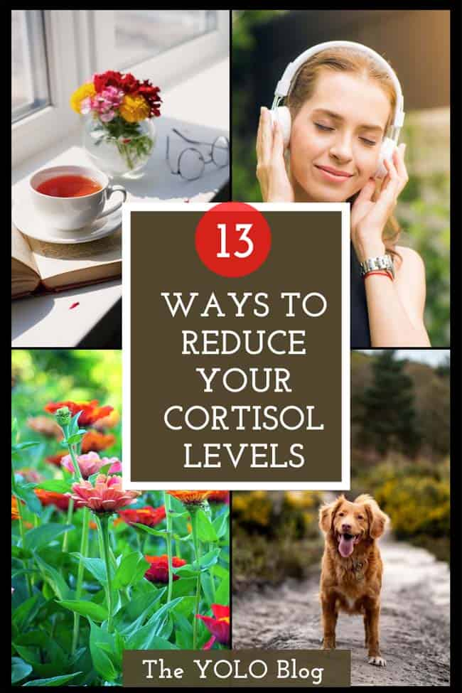 13 ways to reduce your cortisol levels