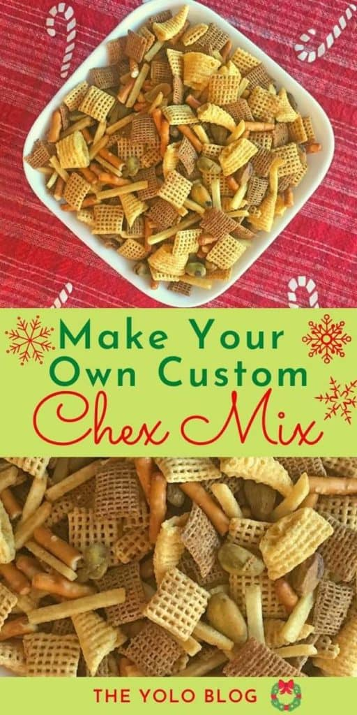 Make your own Chex Mix pin