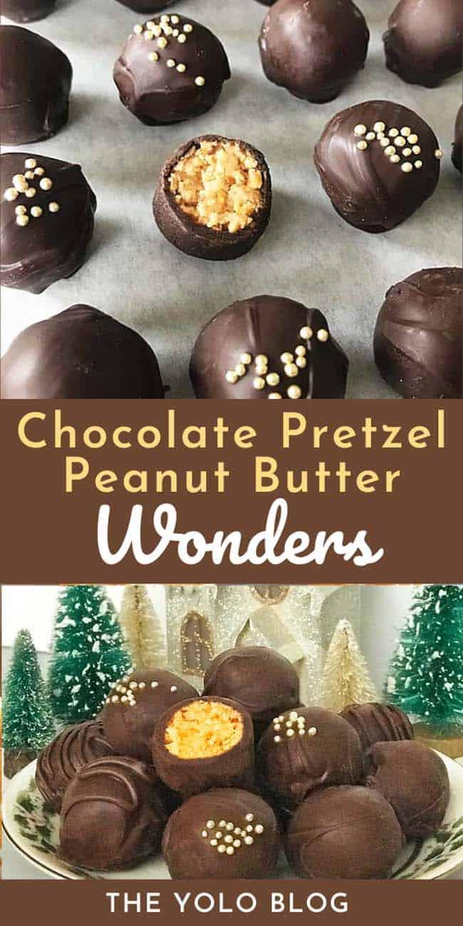 Chocolate Pretzel Peanut Butter Balls