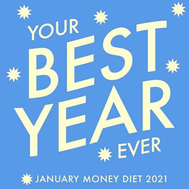 January Money Diet 2021