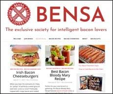 bensa bacon lovers society website