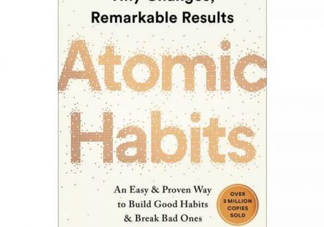 Cover of the book Atomic Habits by James Clear